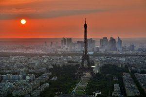 Paris, les prix de l'immobilier ont grimpé.