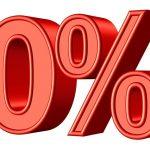 Prêt à taux 0 %, le meilleur taux immobilier du moment.