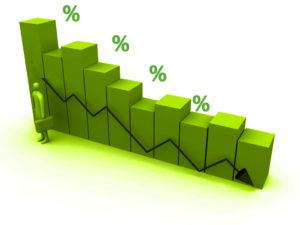 Une légère baisse des taux de crédits immobiliers